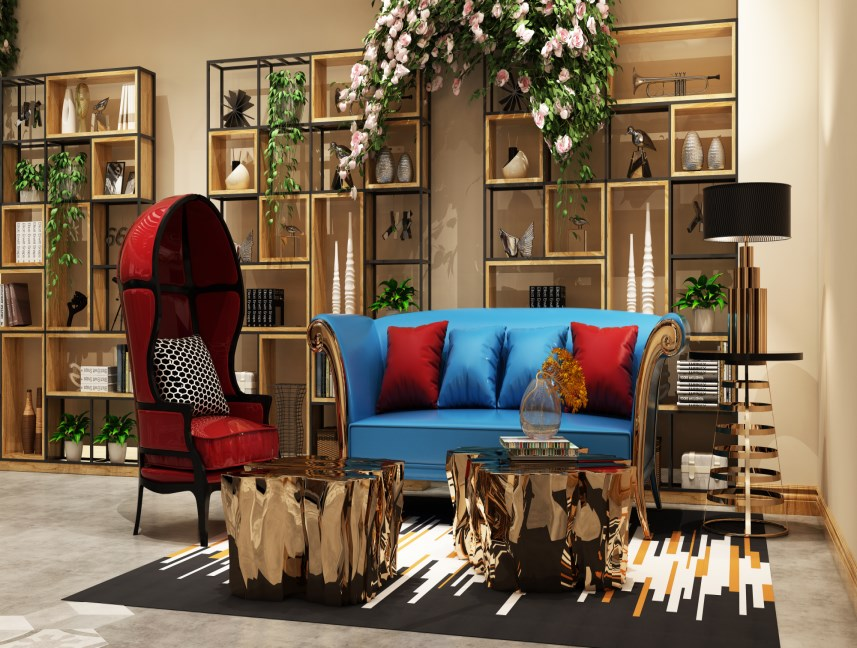 Luxury Hotel Lobby Design
