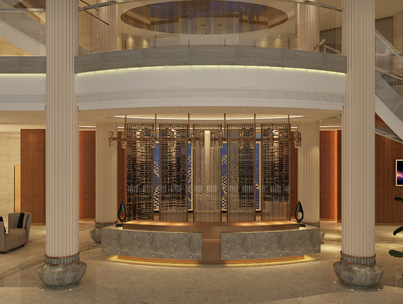 High-end Stainless Steel Fabrication for Hotel Project