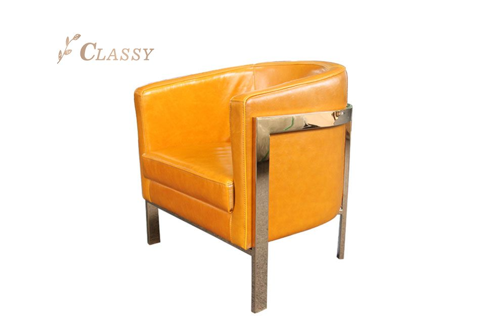 New design Leather Armchair