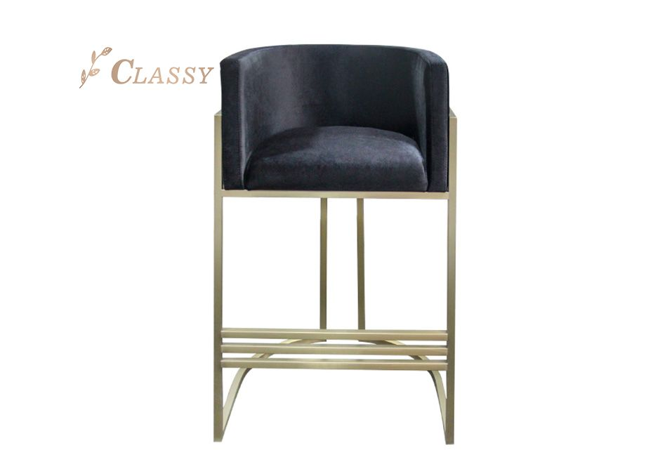Luxury design Counter-height Chair