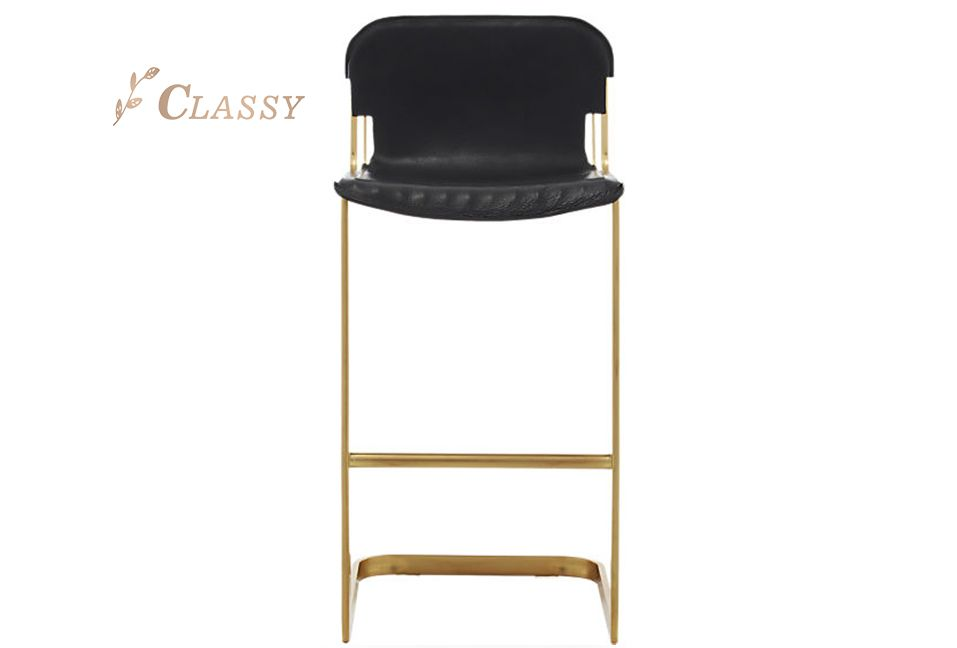 Comfortable Curved Shape Bar Stool