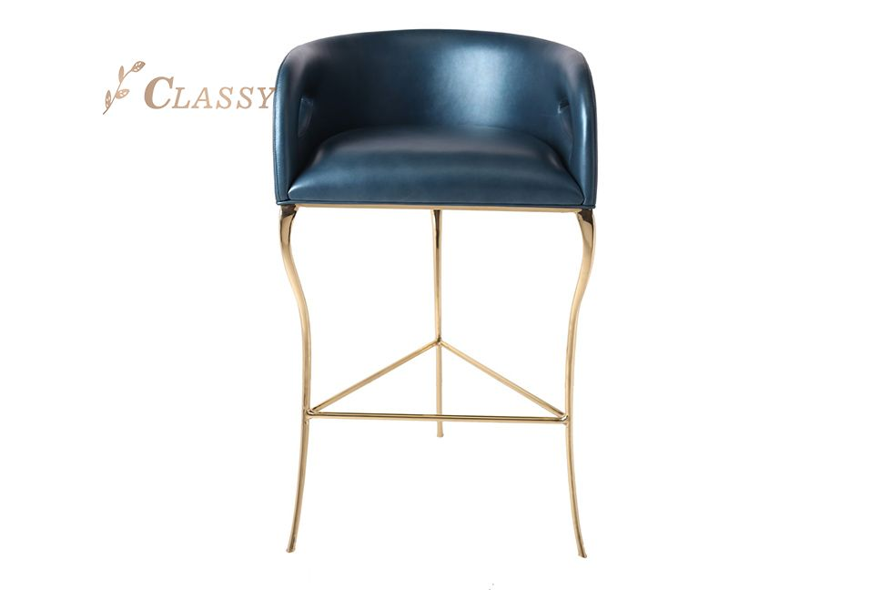 Stylish Design  Leather Bar Chair