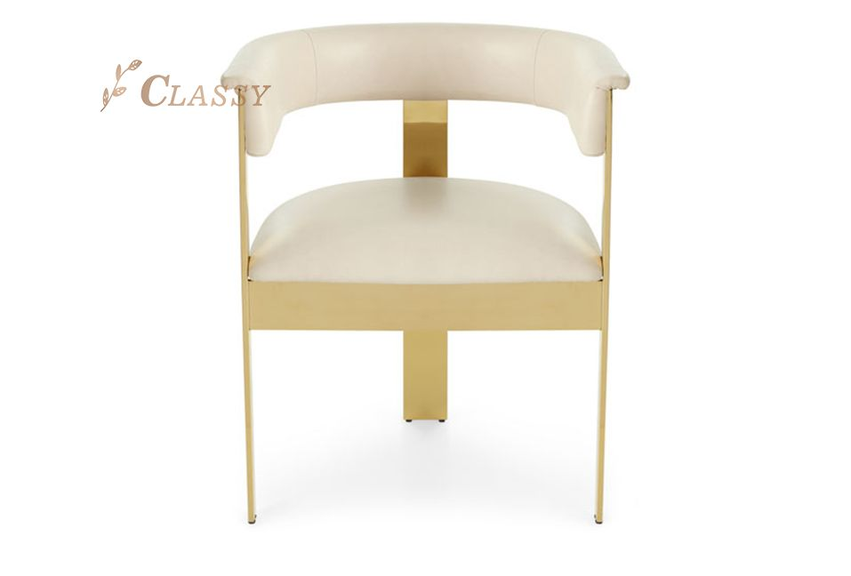 Luxury Design Leather Dining Chair