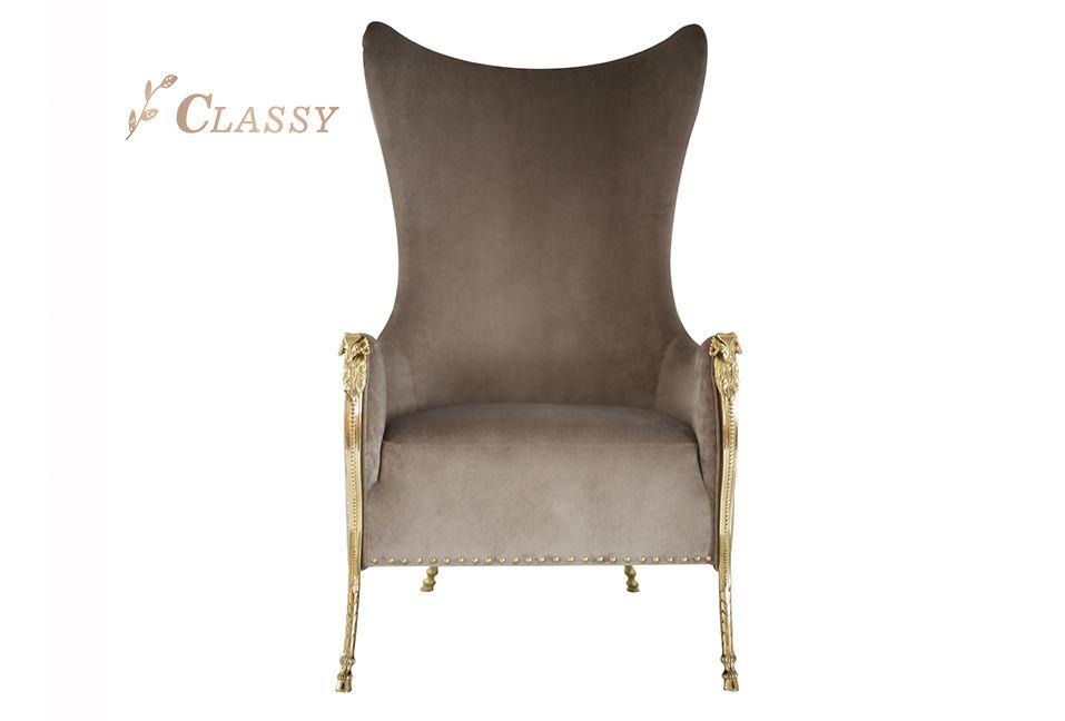 Mid-Century Design High Backrest Dining Chair