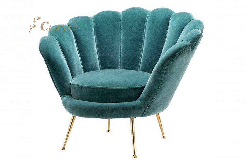 Green Fabric Leisure Sofa for Living Room