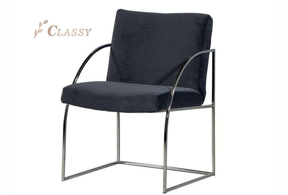 Metal Base Leisure Chair