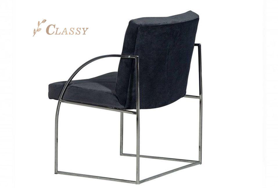 Metal Base Leisure Chair