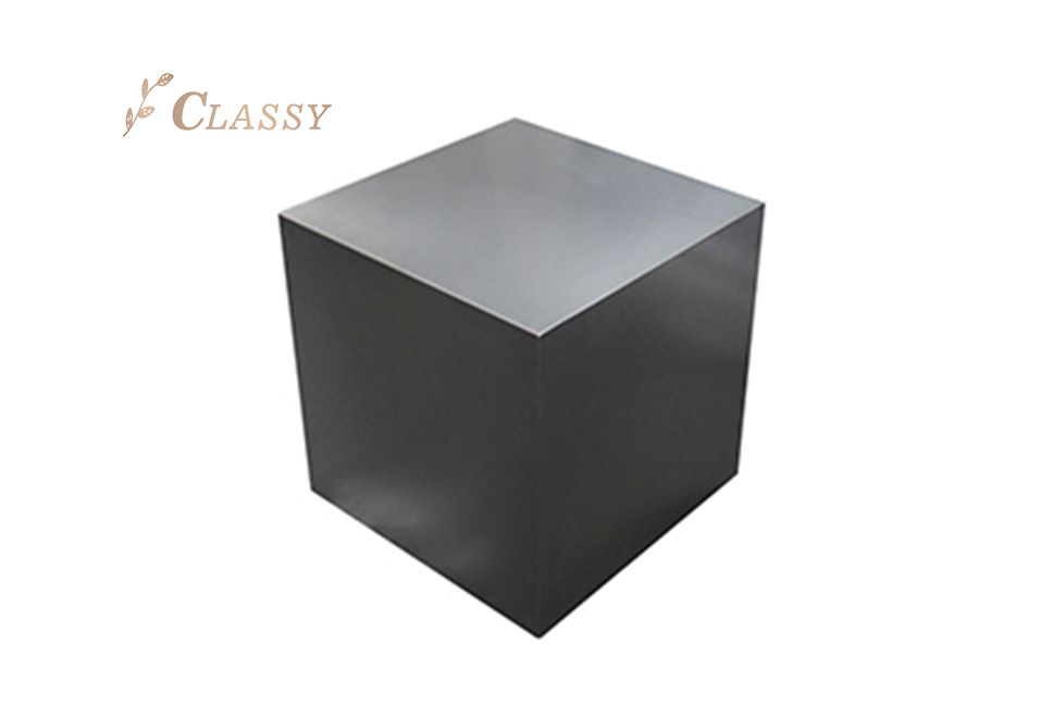 Geometric Shape Metal Stool