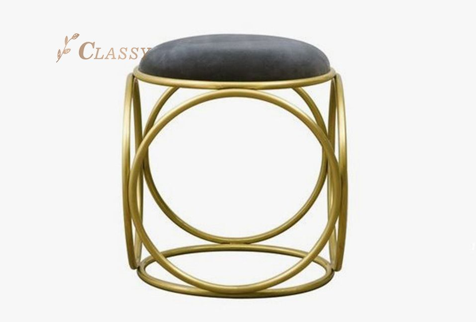 Living Room Metal Stool