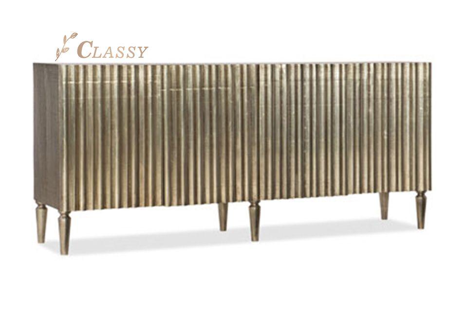 Antique Design Metal Cabinet