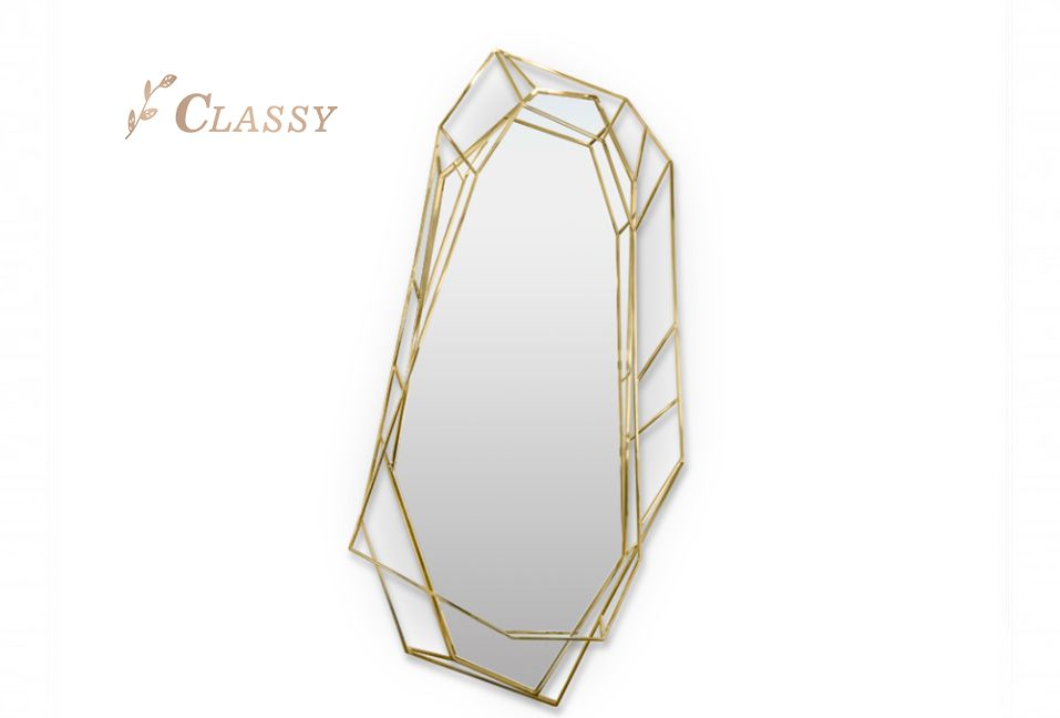 Irregular Shape Wall Mirror