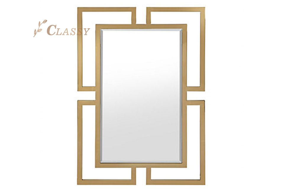 Modern Geometric Shape Mirror