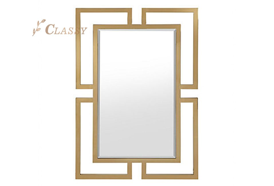 Modern Geometric Shape Mirror
