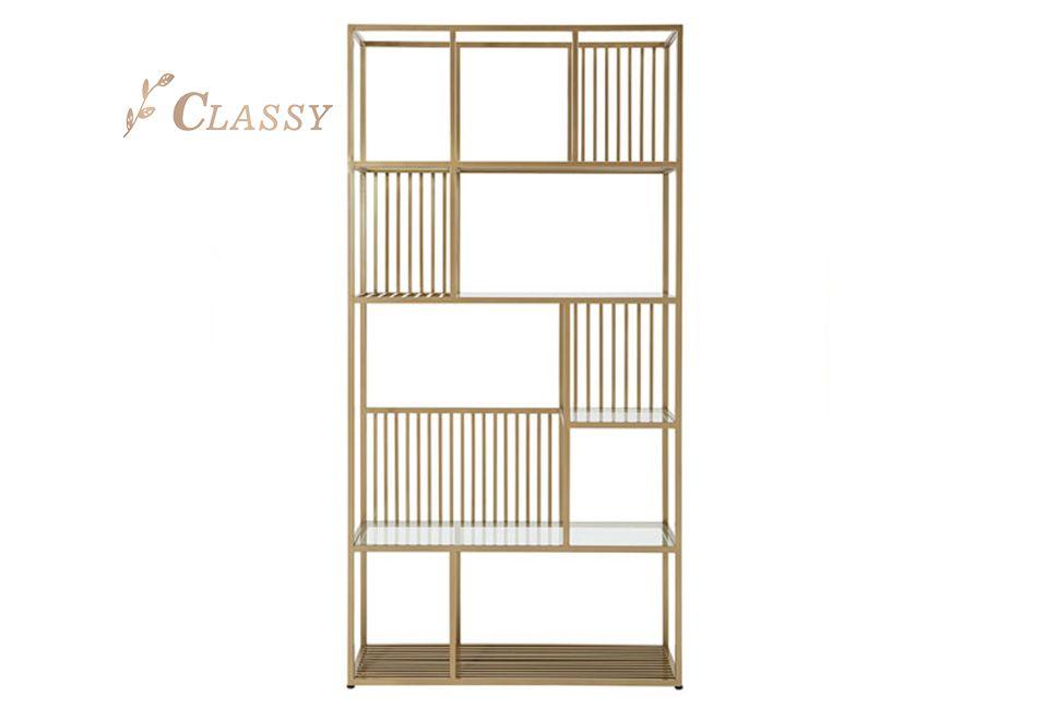 Rectangular Shape Metal Side Shelf