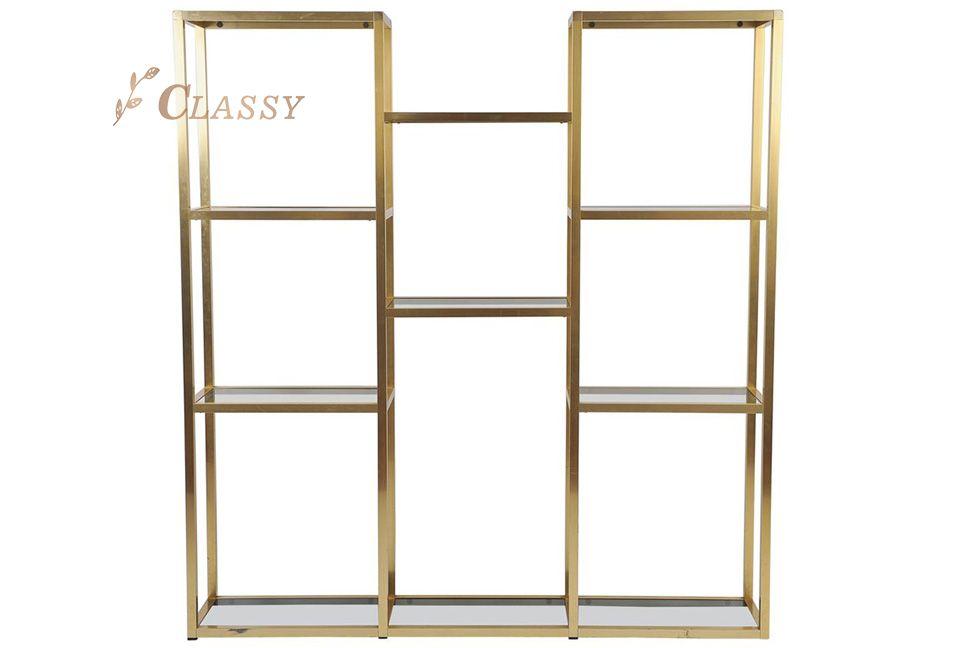 Square Shape Modern Side Shelf