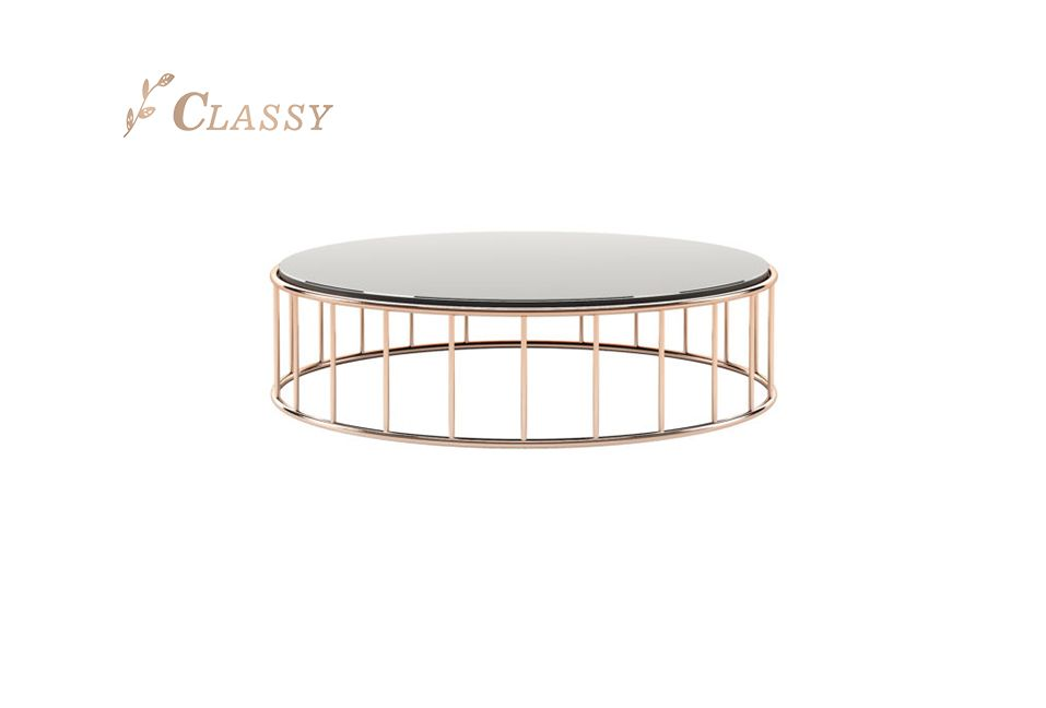 Round Shape Modern Coffee Table