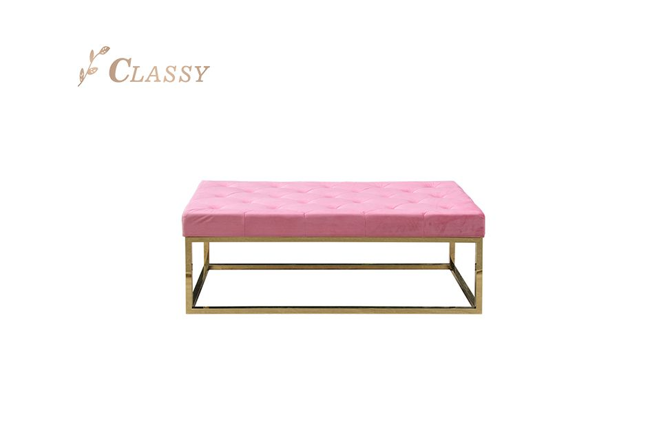 Classic Rectangular Shape Bench