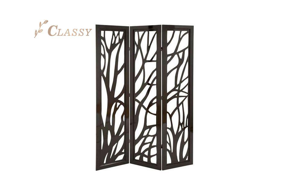 Three Panels Stainless Steel Folding Screen