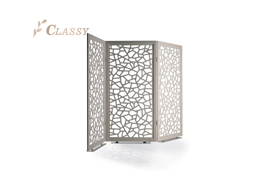Silver Stainless Steel Structure Screen