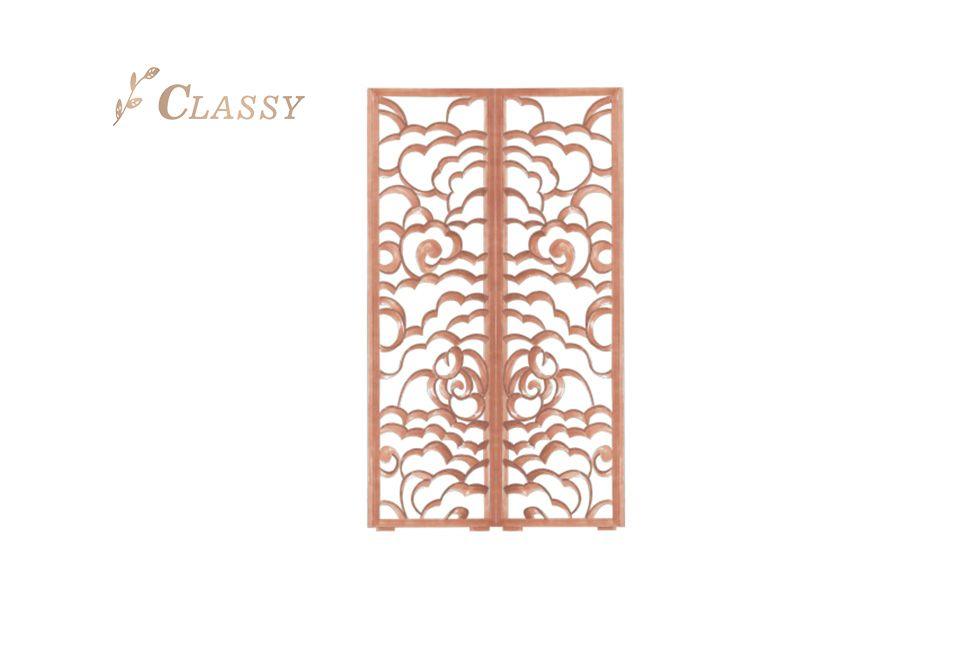 Rose Golden Stainless Steel Screen