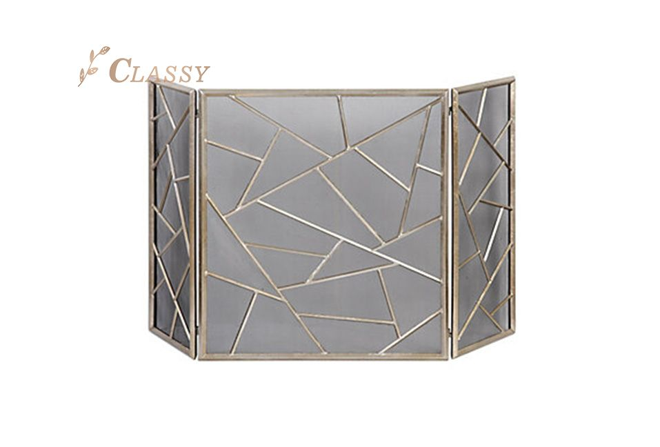Antiqued Stainless Steel Screen