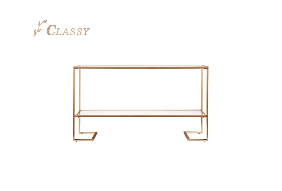 Home Furniture Console Table with Two Layers