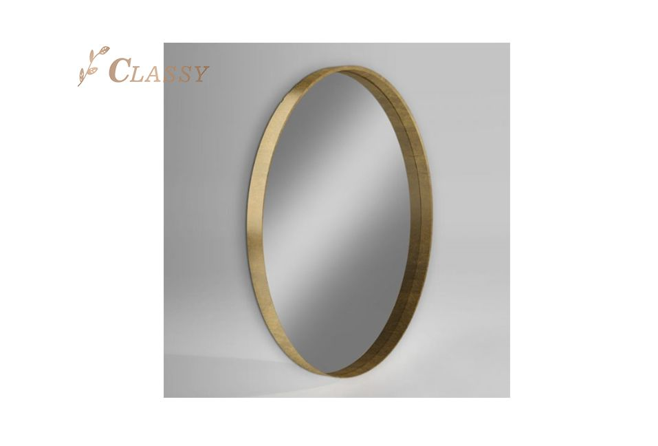 Wall Decorative Mirror with Antique Gold Frame