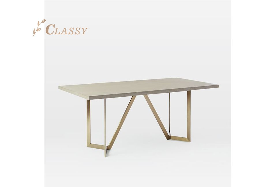Rectangle Dining Table in MDF