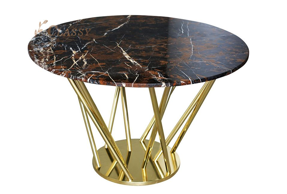 New Design Round Marble Dining Table