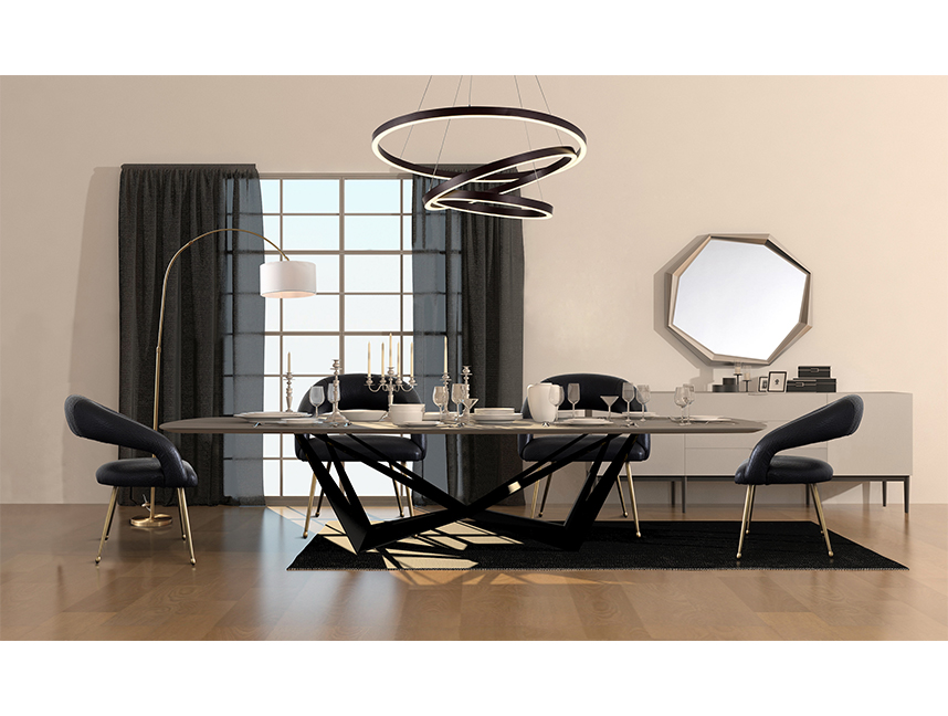 The Contemporary Dining Room Design Idea