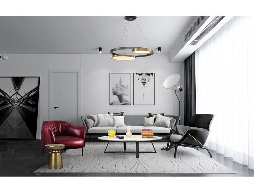Modern Apartment European Style Living Room Idea
