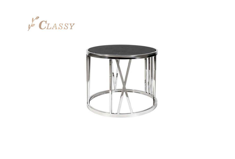 Modern Glass Side Table