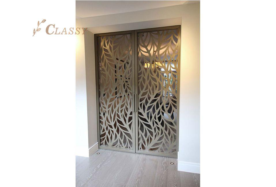 Metal  Laser Cut Door