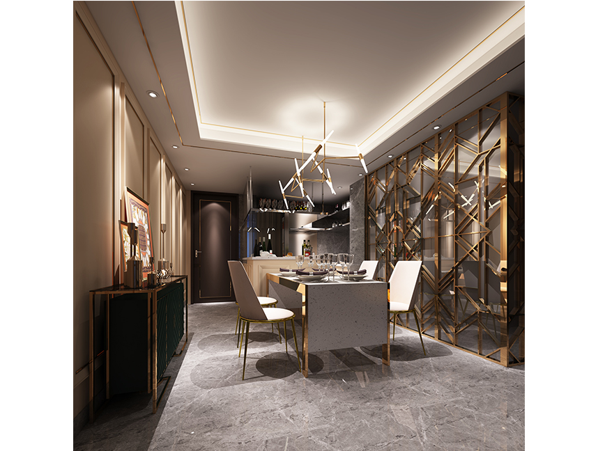 Luxury Dining Room Design Idea