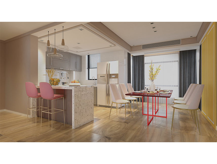 The Modern Design Concept of Dining Room