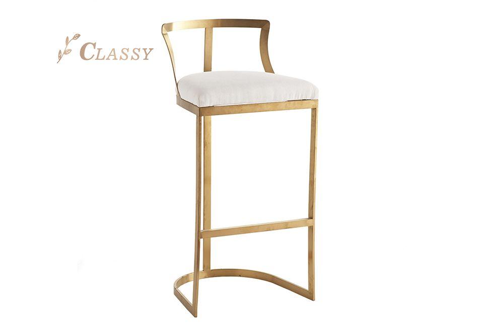 Metal Bar Room Chair