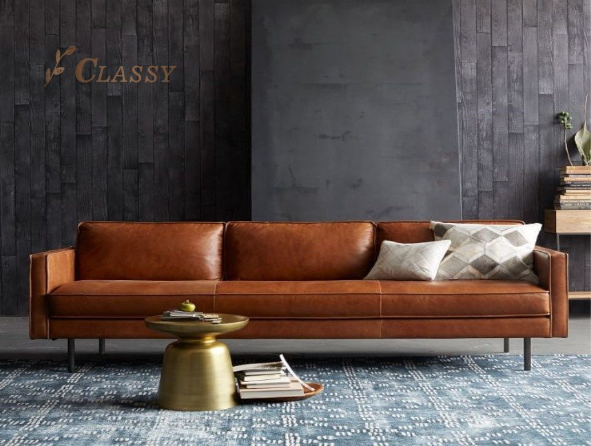 Modern Design Leather Sofa