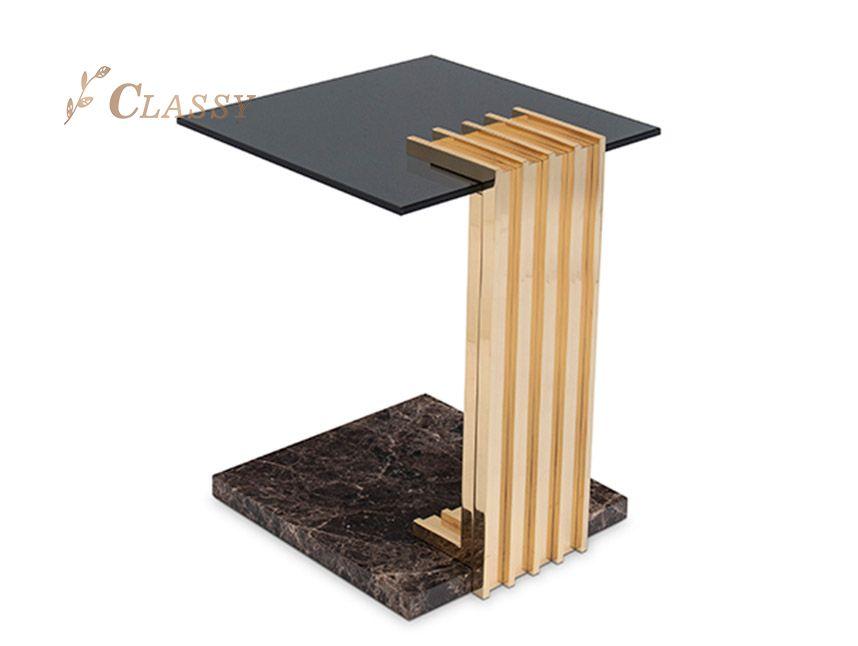 Smoked Glass Table
