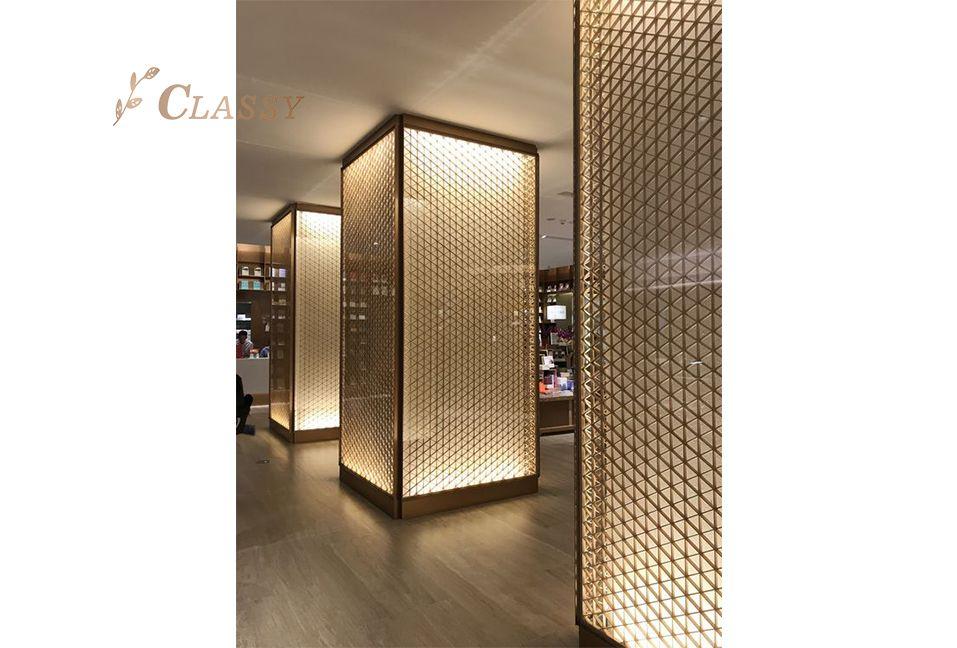 Laser Cut Metal Lamp Decoration Covering
