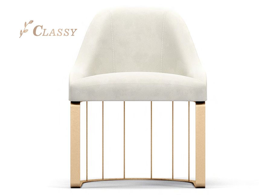 Artificial Leather Dining Chair