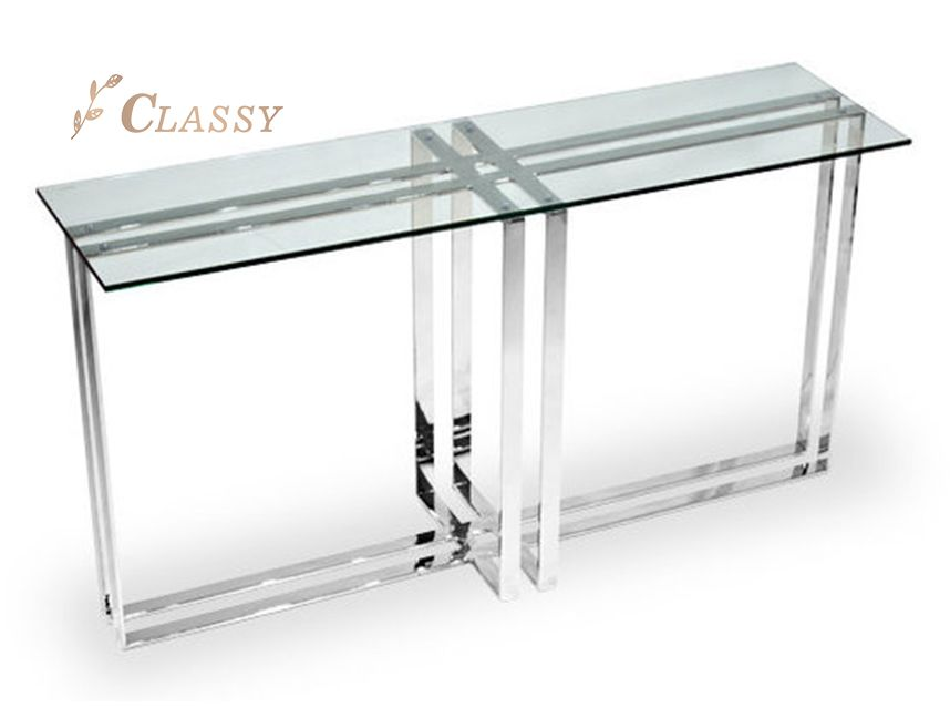 Home Glass Console Table