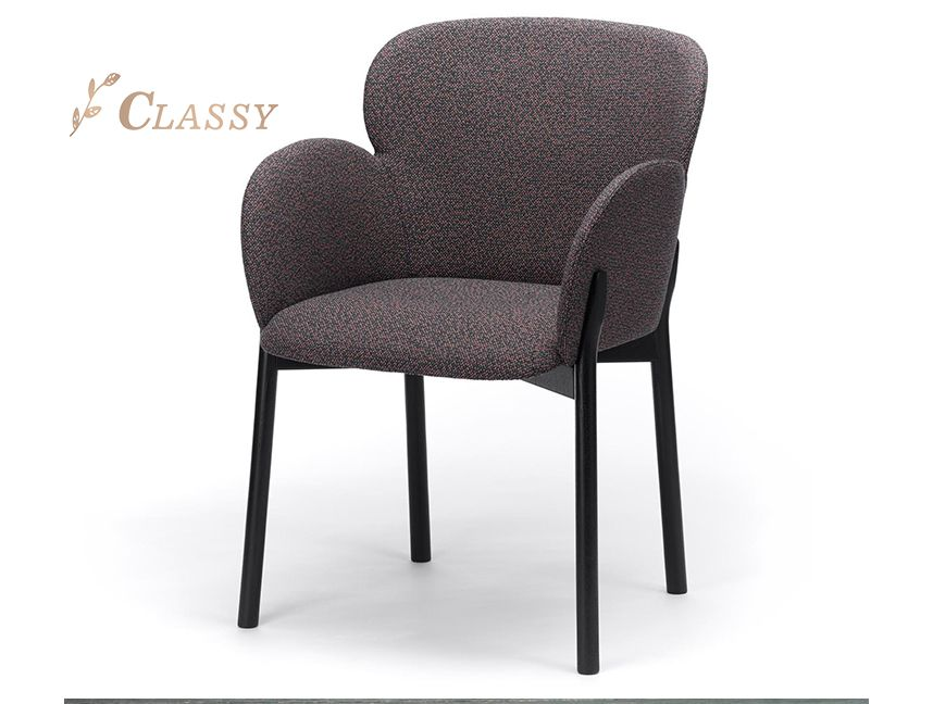 Fabric Armrests Chair