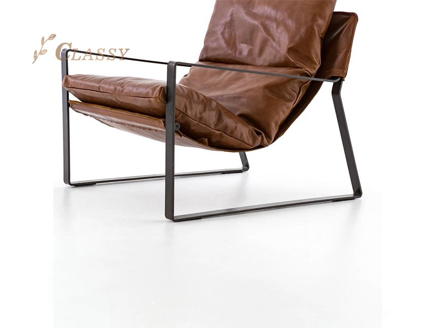 Stainless steel Living room leisure chair