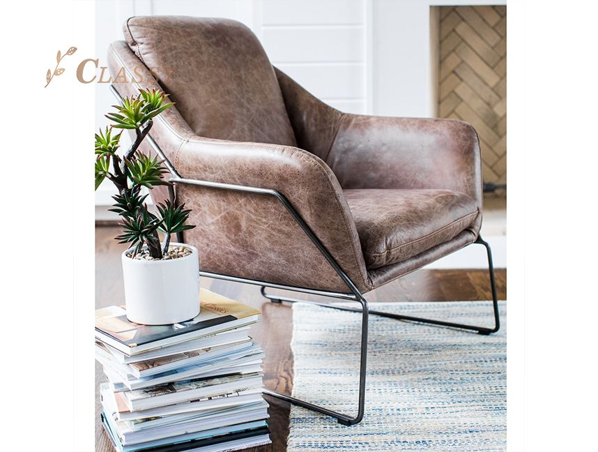 Modern style leisure chair