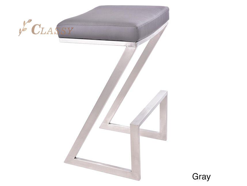 Stainless steel Living room stool