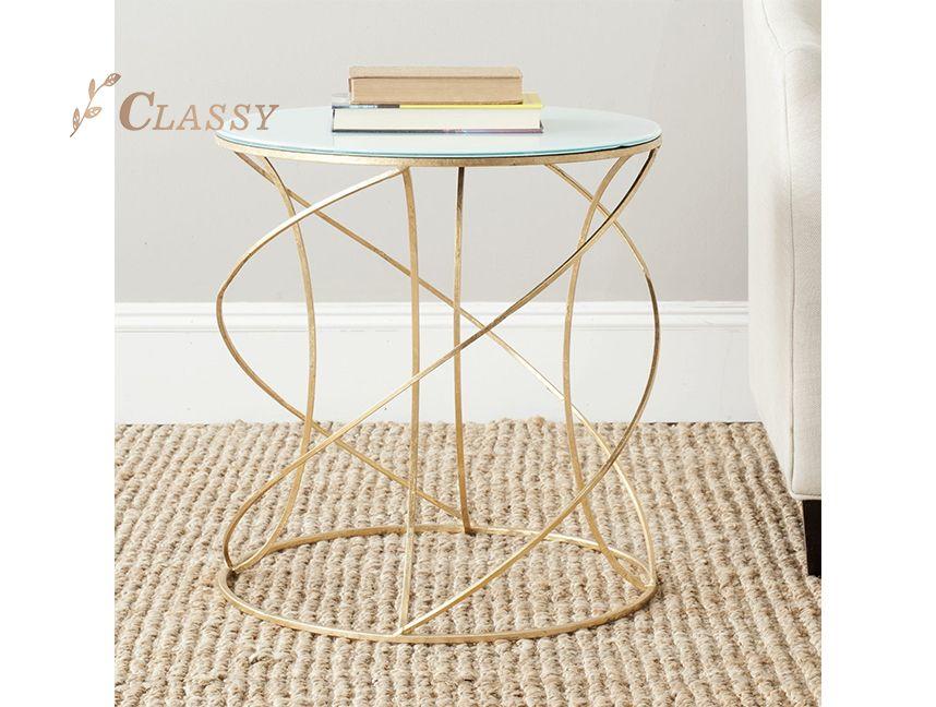 Simple style mini coffee table