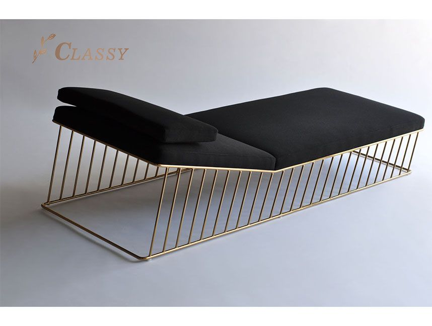 Stainless steel Living room sofa chair