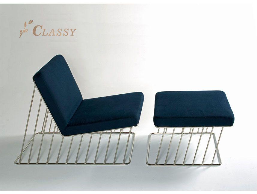 Metal Living room chair