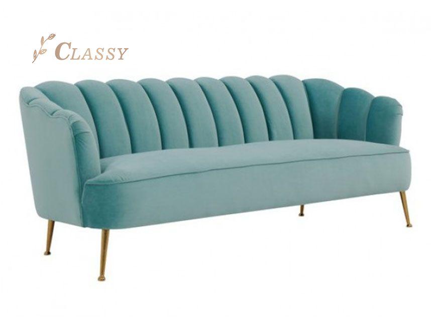Modern Stainless steel Living room lounge sofa