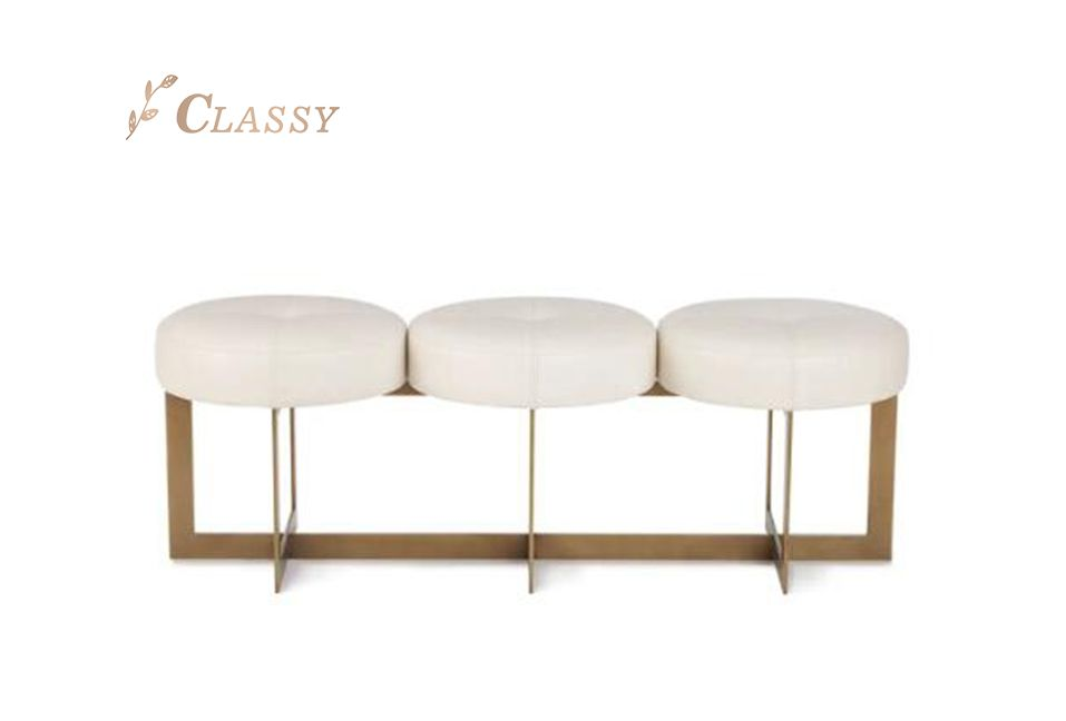 Three Seats Sofa Stools